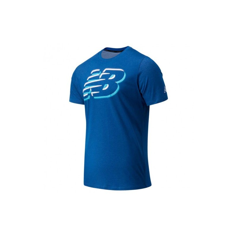 Camiseta New Balance Graphic HT MT11071 CNB