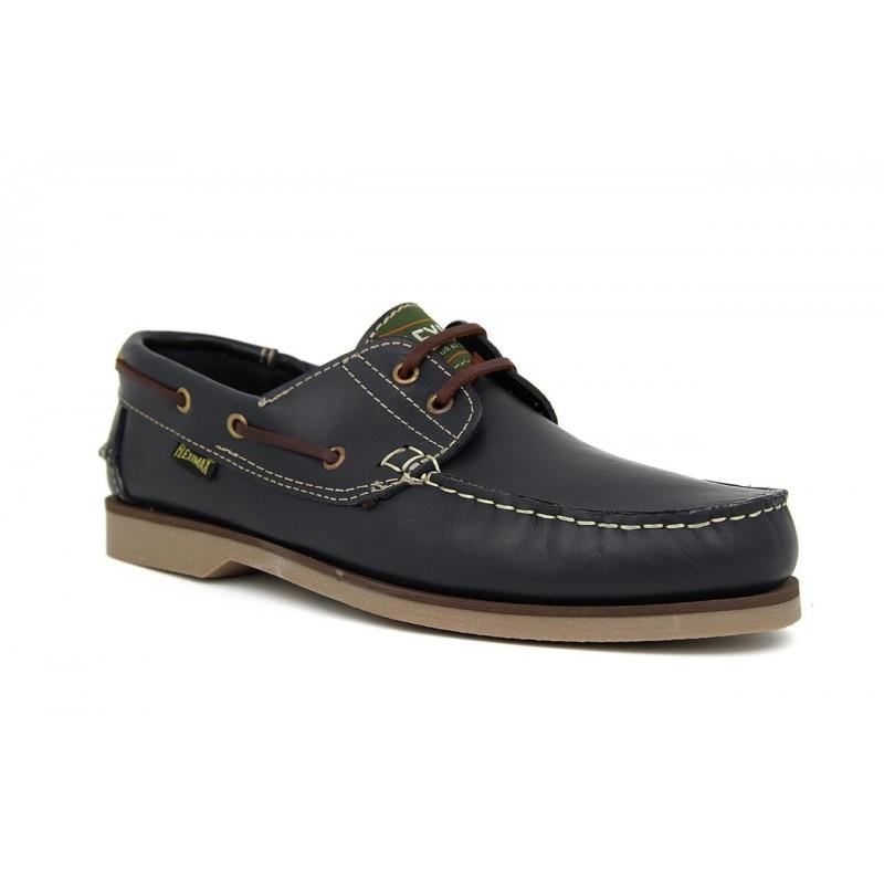 Zapatos talla grande 48 Fleximax 2500 Pull Marino