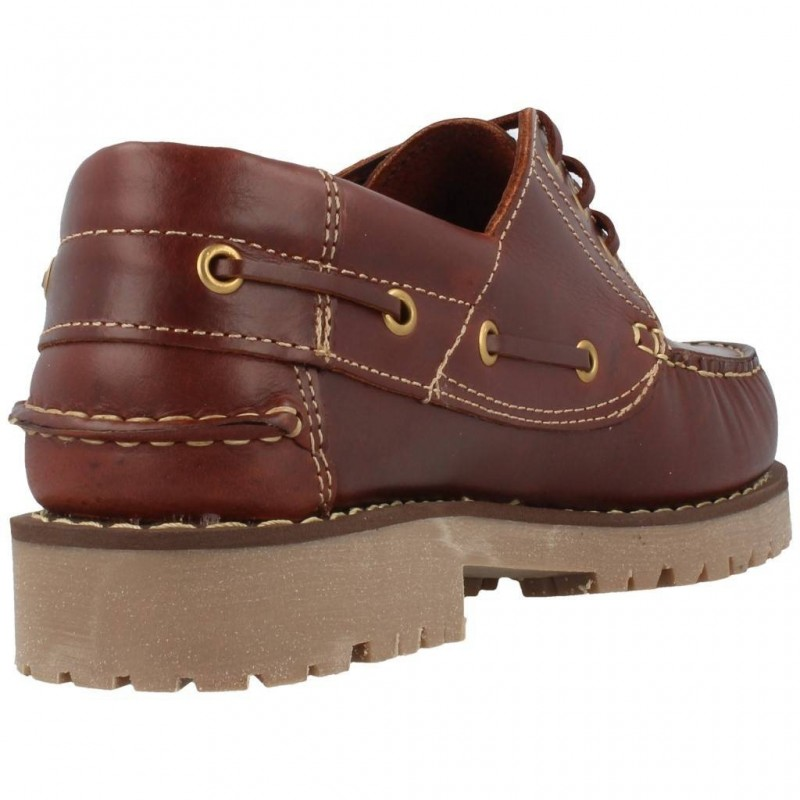 Zapatos Náuticos talla grande 48 Fleximax 3500 ROJIZO